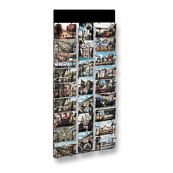 Présentoir mural pour cartes postales 105 x 150 mm