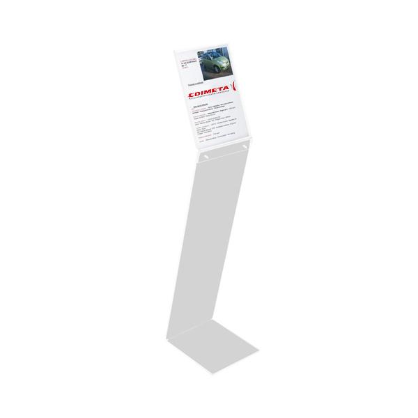 Porteaffiche A Sur Pied Plexi - Porte affiche sur pied