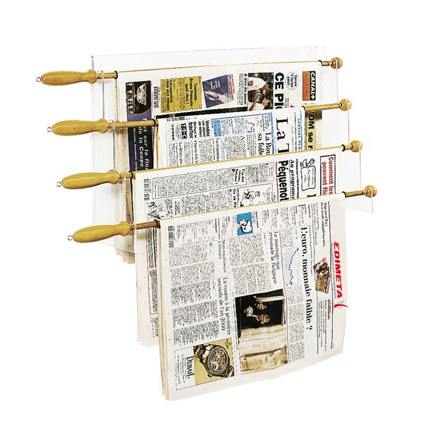 pr sentoir mural 4 baguettes journaux