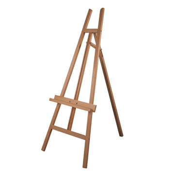 Chevalets en bois pour tableaux, cadres et peintres