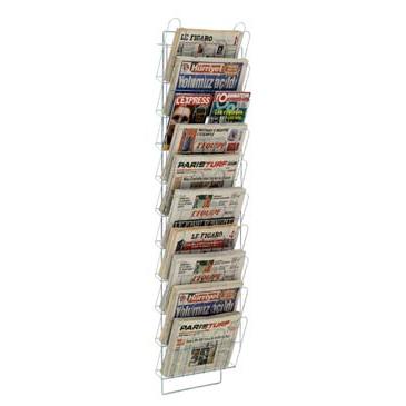 echelle murale journaux presam 10 cases. Black Bedroom Furniture Sets. Home Design Ideas