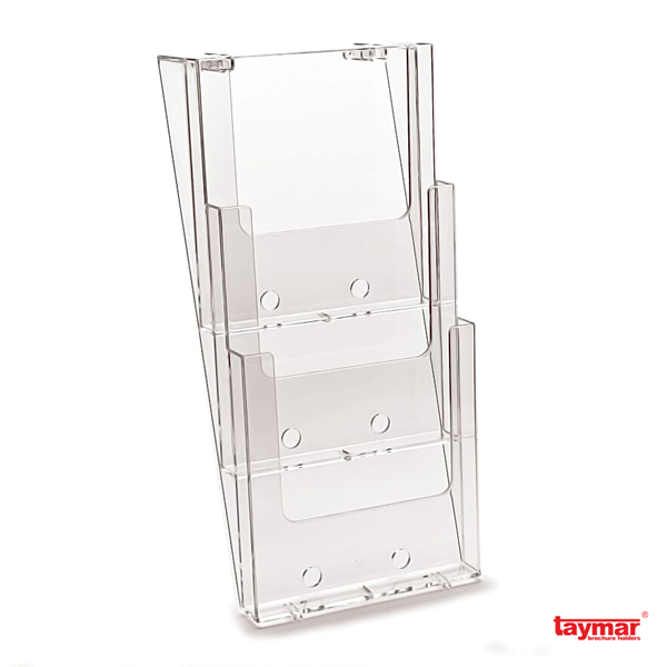 porte brochures muraux budget 1 2 ou 3 cases a4 a5 1 3 a4 taymar. Black Bedroom Furniture Sets. Home Design Ideas