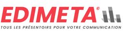 Présentoir, panneau, stand - Edimeta - PLV, affichage, mobilier bureau, entreprise